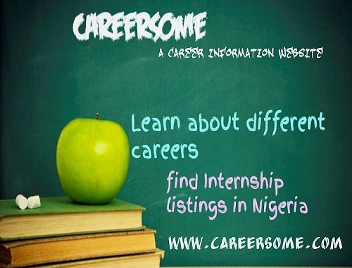 learn about different careers and find internship listings in Nigeria